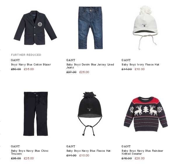 Gant kids clothes