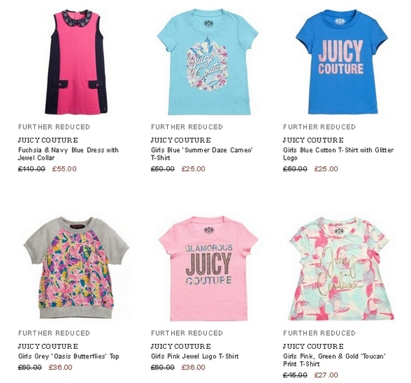 6be4e8b00 Juicy Couture girls clothing | Designer kids clothes