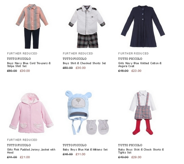 Tutto Piccolo children clothes
